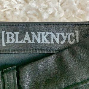 Blank NYC Pants & Jumpsuits - BLANKNYC Leather Leggings
